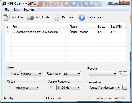 BAIXAR MP3 QUALITY MODIFIER | Akilles13