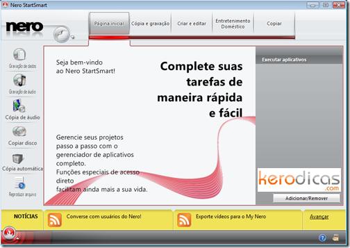 Nero StartSmart KeroDicas