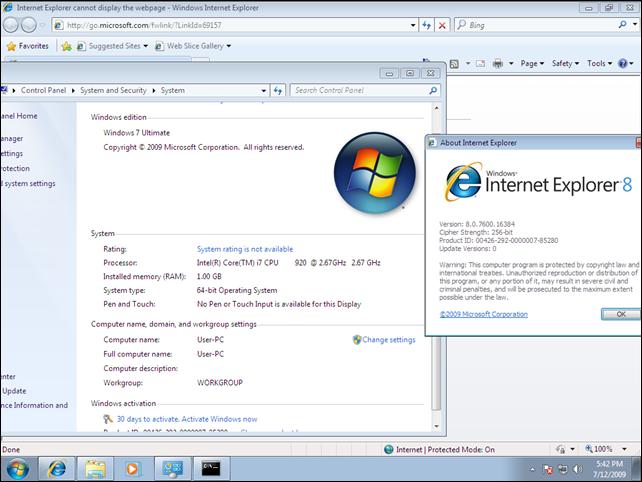 Скачать Microsoft Windows 7 Build 7600 х64 в данное время мы не можем по