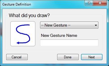GestureDefinition