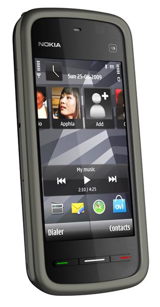 Nokia5230_black_left_lean