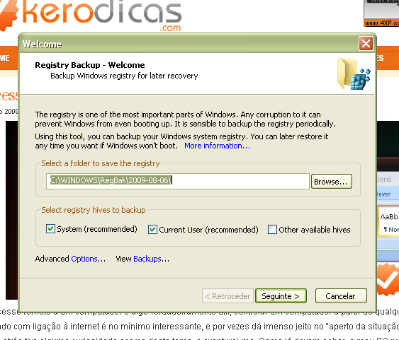 registry-backup-kerodicas