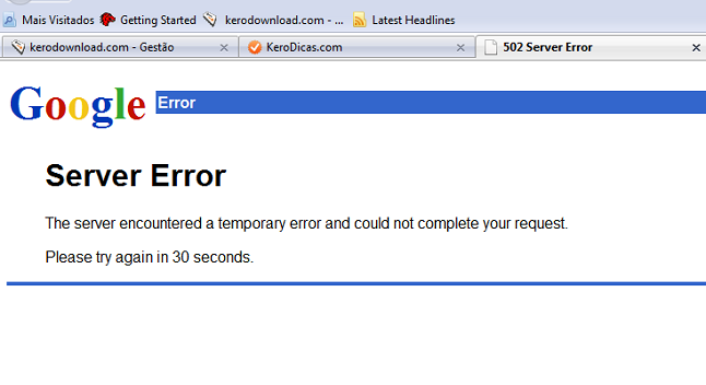 google-server-error-kerodicas
