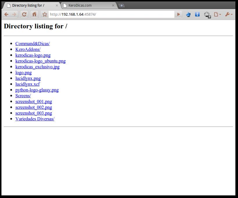 CapturaEcra-Directory listing for - - Google Chrome