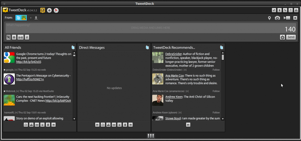TweetDeck_Desktop Screensot