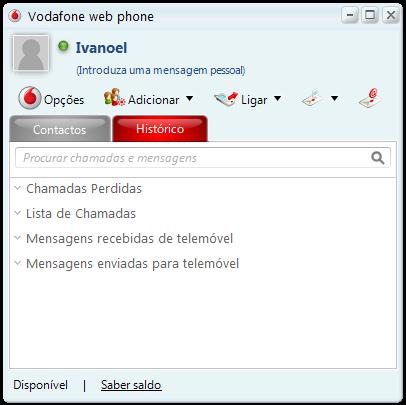 VodaFone_Web_Phone_Main_Window