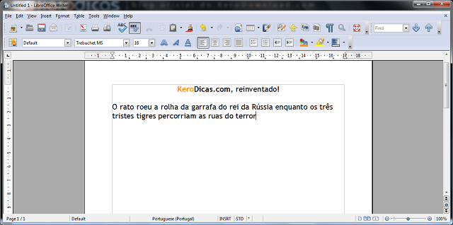 broffice writer gratis portugues