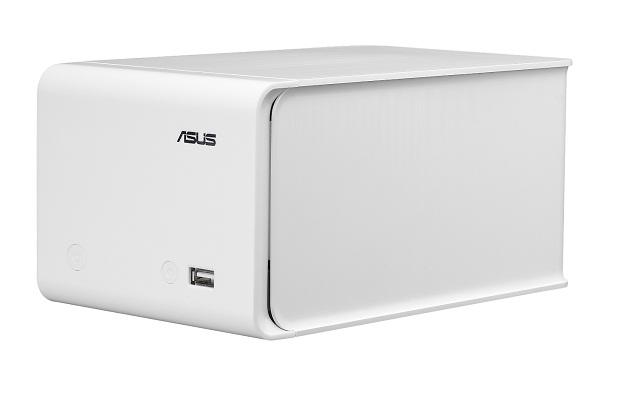 NAS-M25, backup de 4TB onde cabem mais de 2.000.000 MP3s ASUS-PR-NAS-M25-front