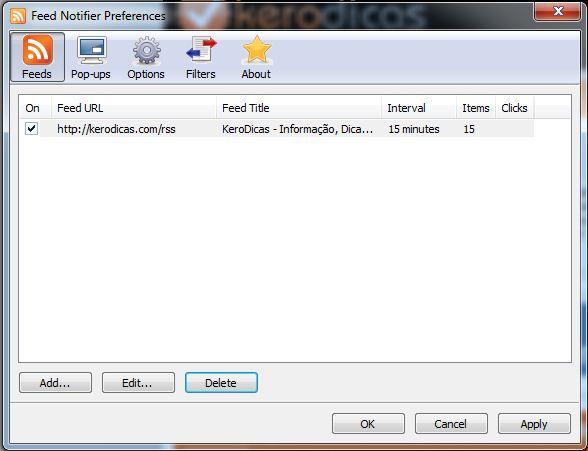 feed notifier