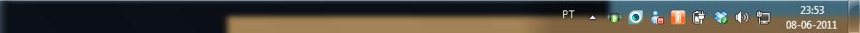 RAM CPU Taskbar