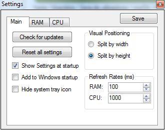 RAM CPU Taskbar2
