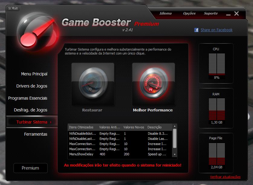 Game Booster - приложение, основное предназначение которой настроить