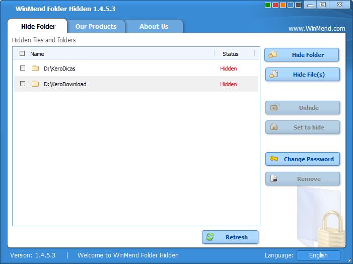 WinMend Folder Hidden 1.4.5.3_1