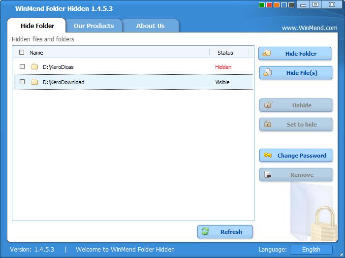 WinMend Folder Hidden 1.4.5.3_3