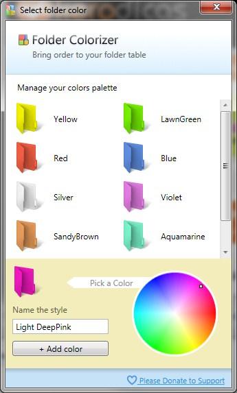 Folder Colorized 3
