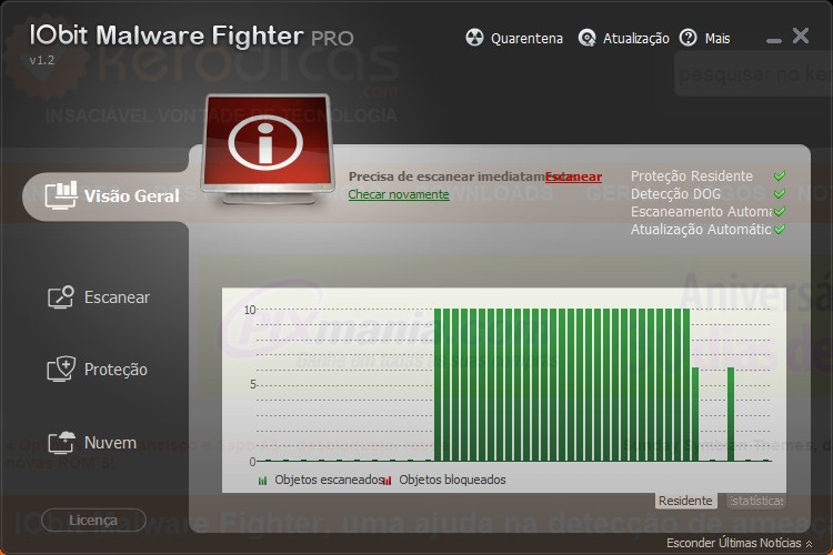 IObit Malware Fighter 1.2