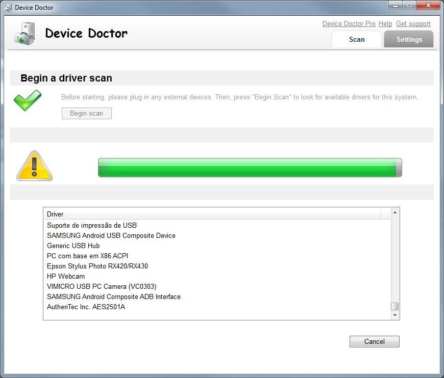 Device Doctor, fique com todos os seus drivers actualizados