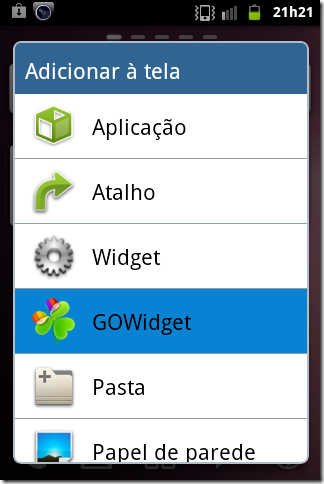 Go Launcher Ex Widgets