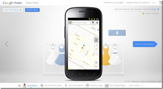 Google Maps Android Demo