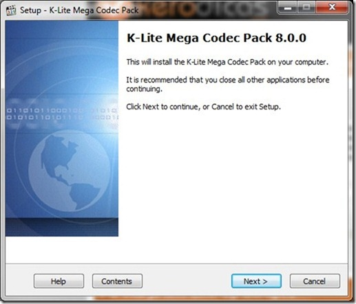 K-Lite Mega Codec Pack 8