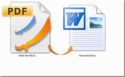 PDF To Word Converter Icones