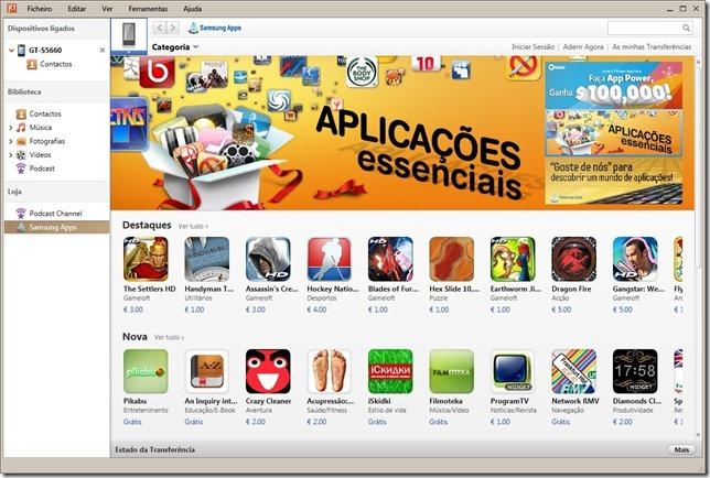 Samsung Kies Apps
