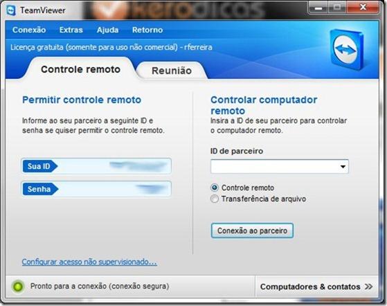 TeamViewer 7 Inicio