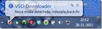 VSO Downloader 1.6.8 Notificação