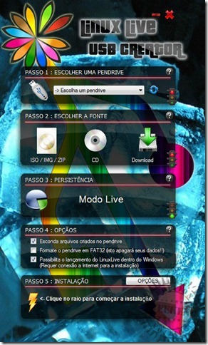 Linux Live Usb Creator- Weekend
