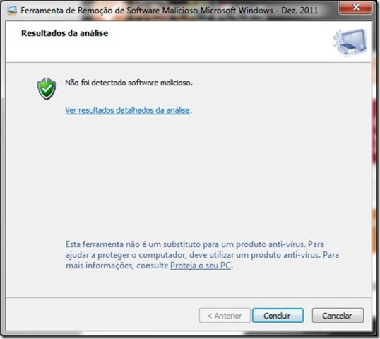 Microsoft Malicious Software Removal Tool 4.3 Concluido