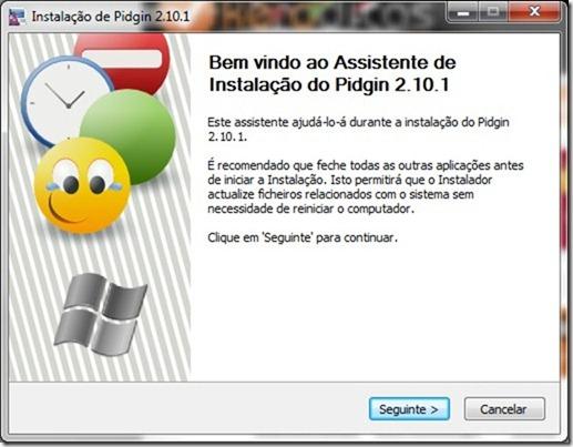 Pidgin 2.10.1 Setup