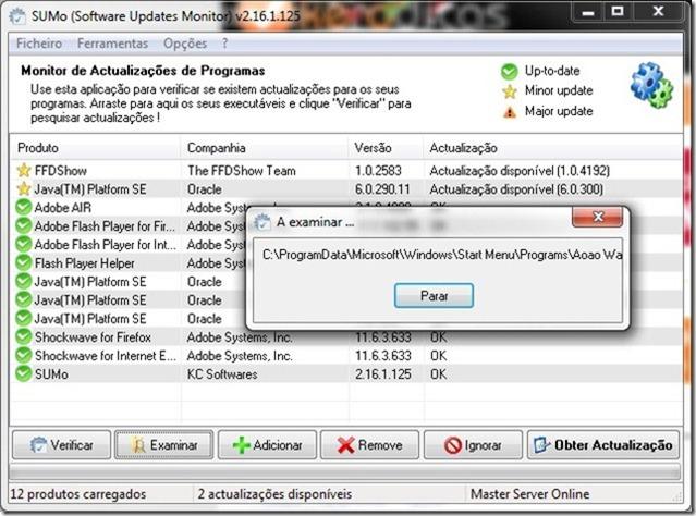 SUMo 2.16.1.125 Examinar