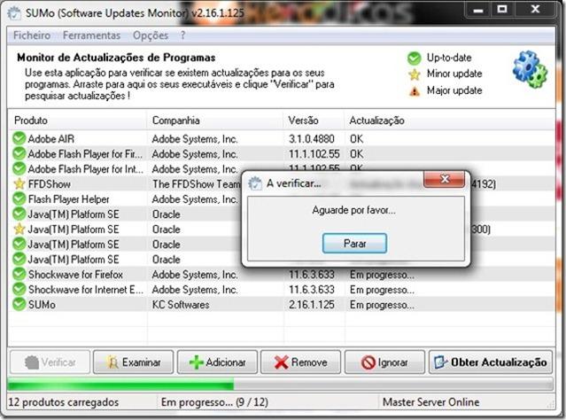 SUMo 2.16.1.125 verificar