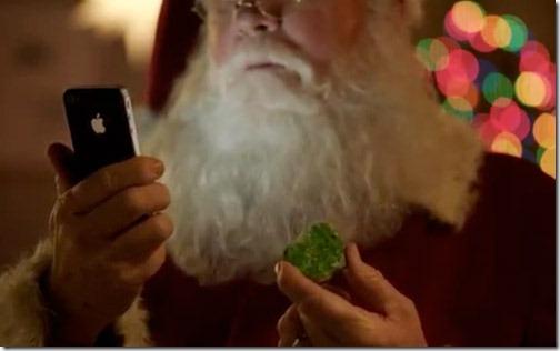 Santa-iPhone-4S-Christmas-Ad