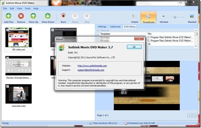 Sothink Movie DVD Maker V3.7
