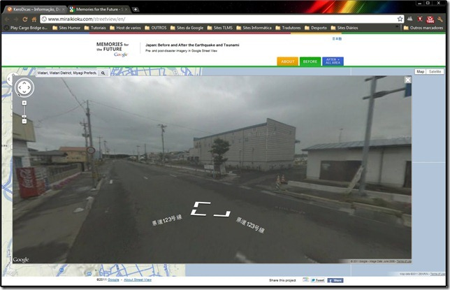 Street View Japan Antes