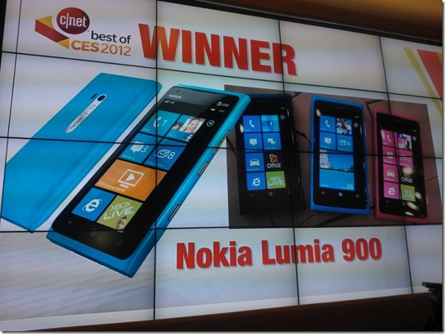 Nokia wins Best Cellphone award at CNET's Best of CES awards!&lt;br /&gt;&lt;br /&gt;<br />