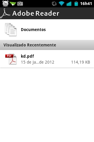 Adobe Reader Documentos