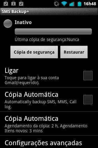 Backup SMS +