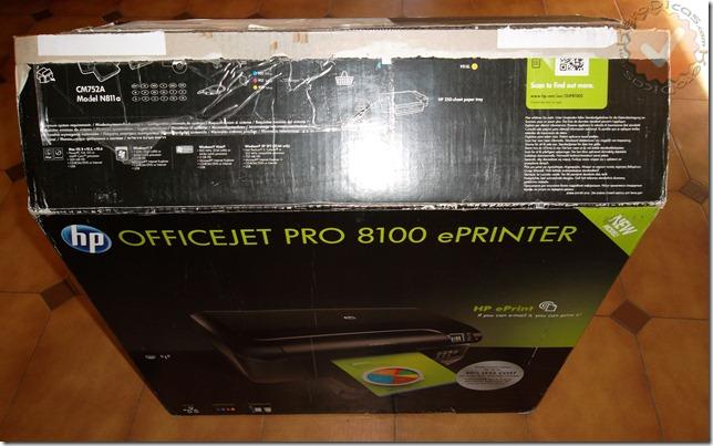 Embalagem da HP Officejet Pro 8100_KeroDicas
