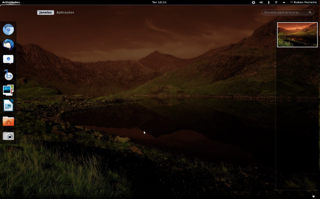 Gnome3 no Ubuntu 11.10