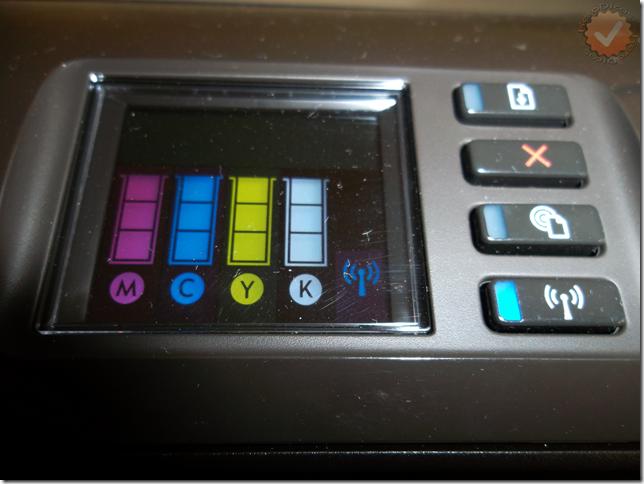 HP Officejet Pro 8100 Ecrã_KeroDicas