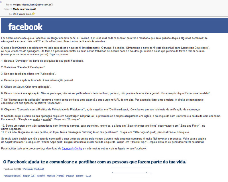 facebookemailfalso