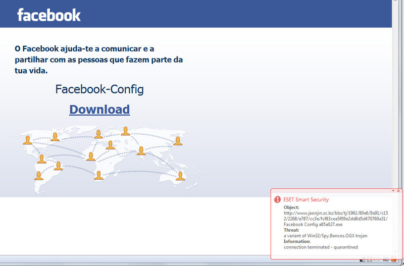 facebookesetdetectatroj