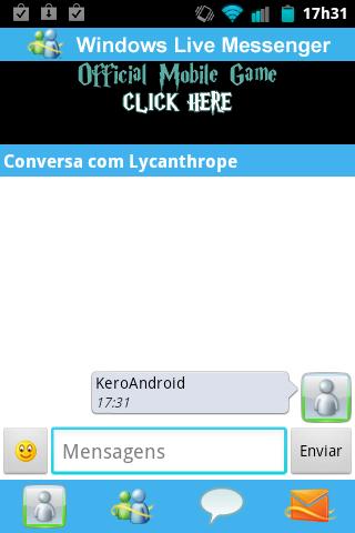 Messenger WithYou Conversa