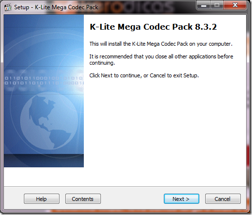 K-Lite Mega Codec Pack 7.7.0 codecs audio y video.