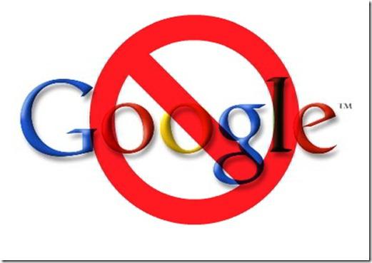 Google Bloqueado