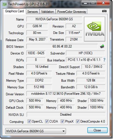 GPU-Z 0.6.2