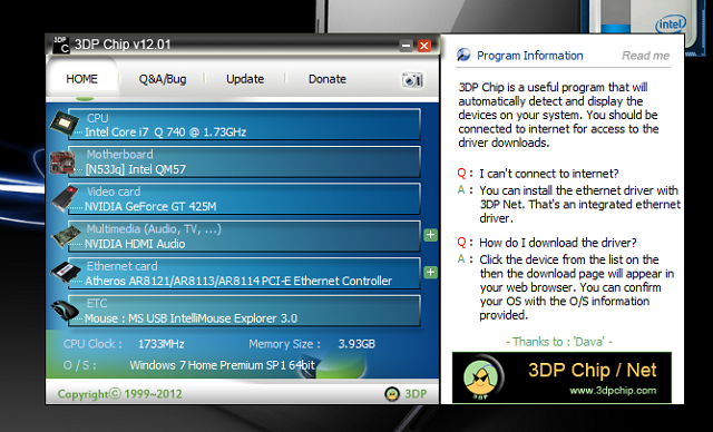 3DP Chip para actualizações fáceis dos drivers - Pombaldata